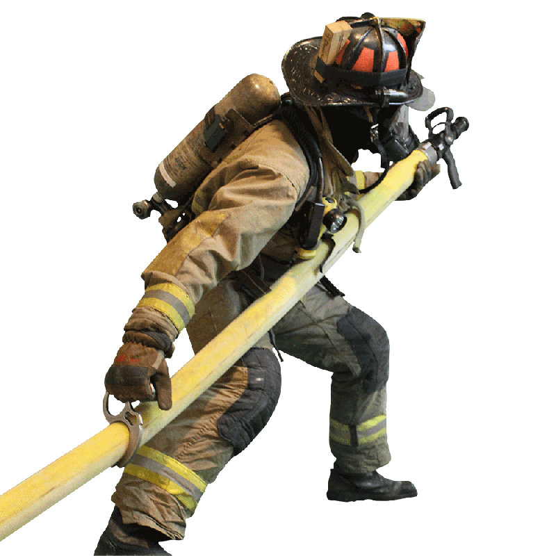 Firefighter PNG Image.