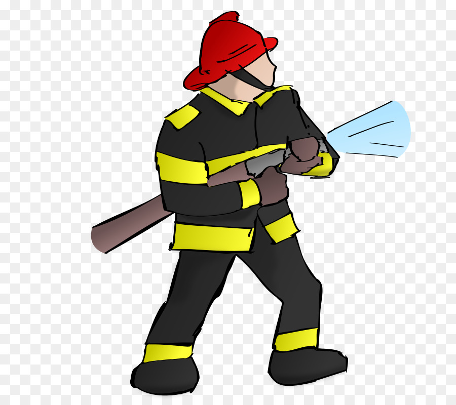 Firefighter Fire department Firefighting Clip art.