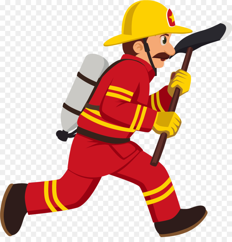 Firefighter Cartoon Ro #44855.