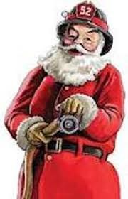 Image result for santa firefighter clip art.