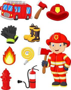 43 Best Firefighter clipart images in 2019.