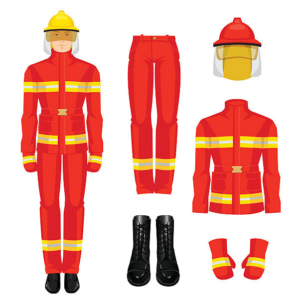 Best Fireman Boots Illustrations, Royalty.
