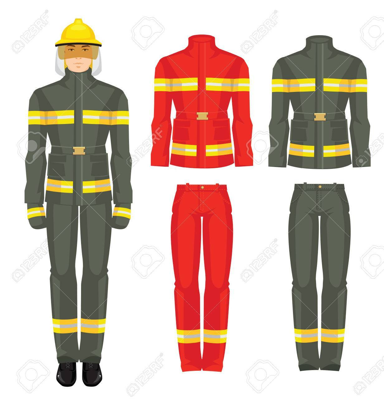 Fireman uniform clipart 9 » Clipart Portal.
