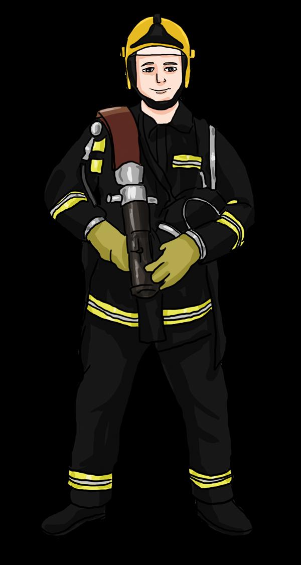 Free to Use & Public Domain Fireman Clip Art.