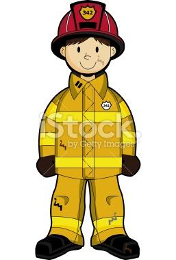 Fireman Uniform Clipart.