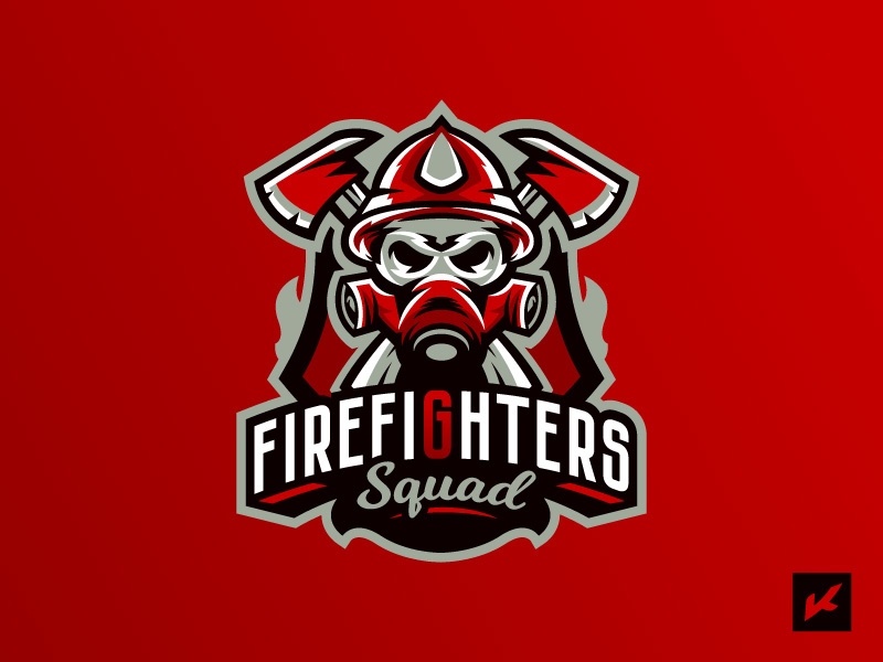 Fireman\'s logotype by Konstantin Design on Dribbble.
