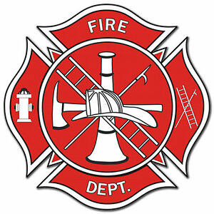 Details about Fireman\'s Fire Department Logo 5.5\