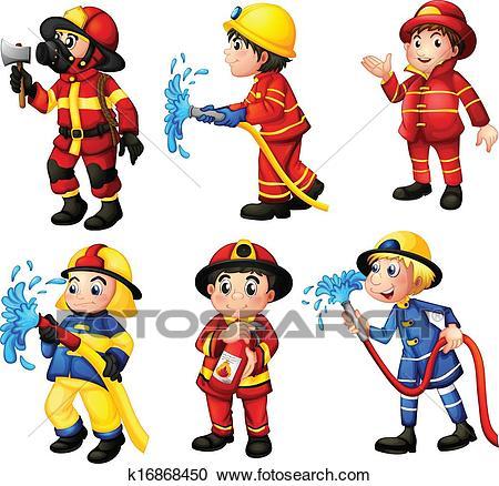 Firemen Clipart.