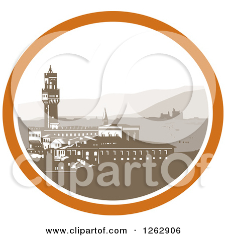Clipart of a Retro Sketched or Engraved Olive Jar, Grapes and.