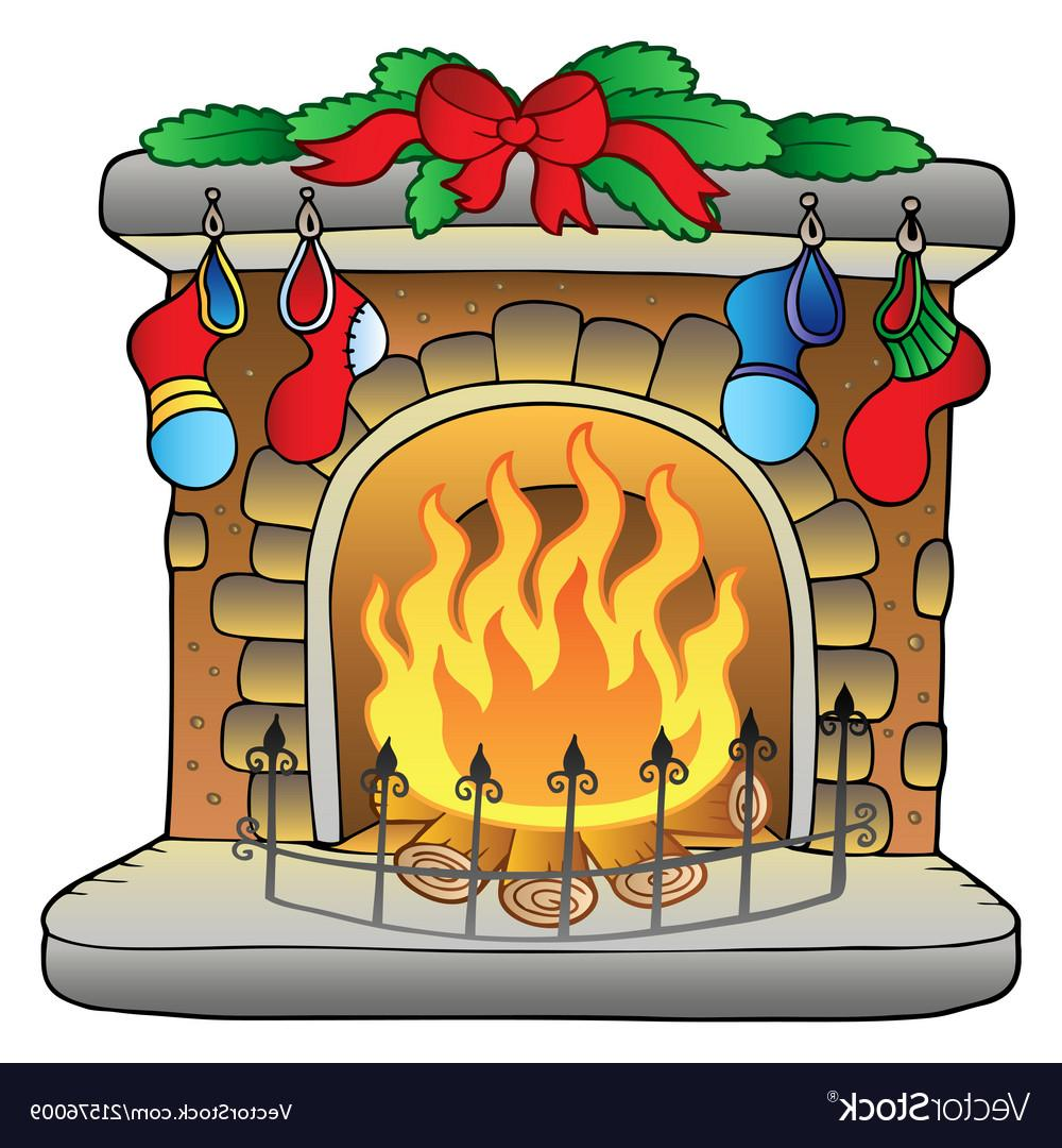 Best Christmas Fireplace Clip Art Library » Free Vector Art, Images.