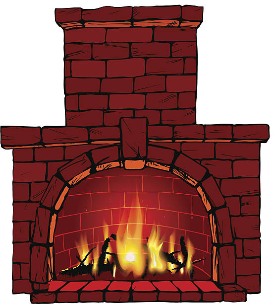 Fireplace clipart brick oven, Fireplace brick oven.