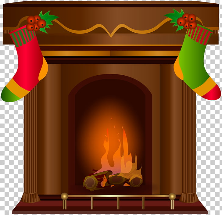 Fireplace Santa Claus Chimney , Transparent Fireplace s PNG.