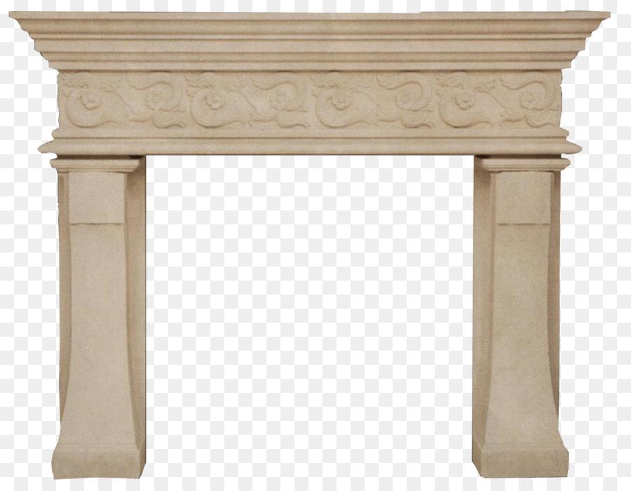 Fireplace Mantel Furniture png download.