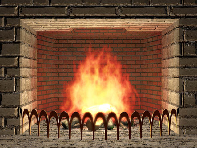 Fireplace clipart images.