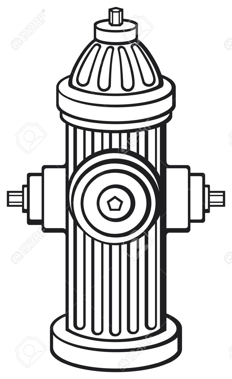 Fire Hydrant Royalty Free Cliparts, Vectors, And Stock.