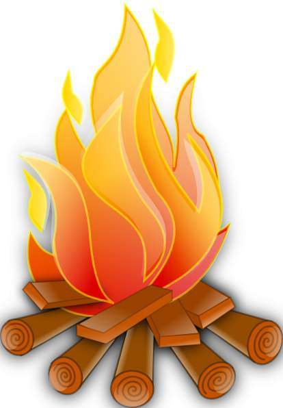 free clip art fire pit - photo #24