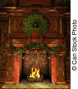 Fireside Stock Illustrations. 384 Fireside clip art images and.