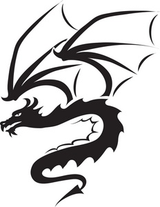 Dragon fire clipart.