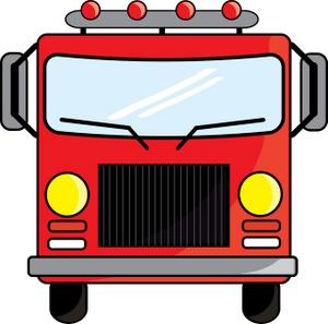 Fire Truck Clipart.