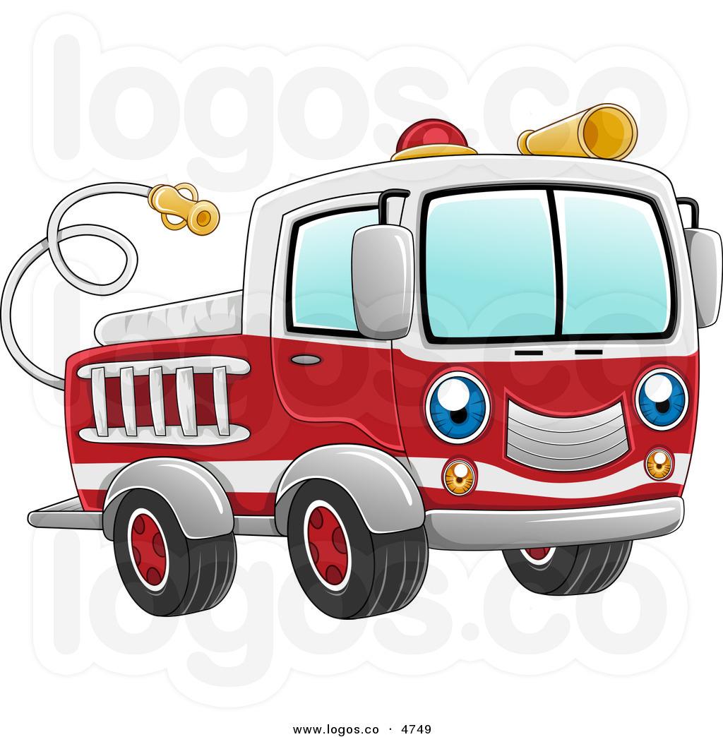 Firetruck clipart #14