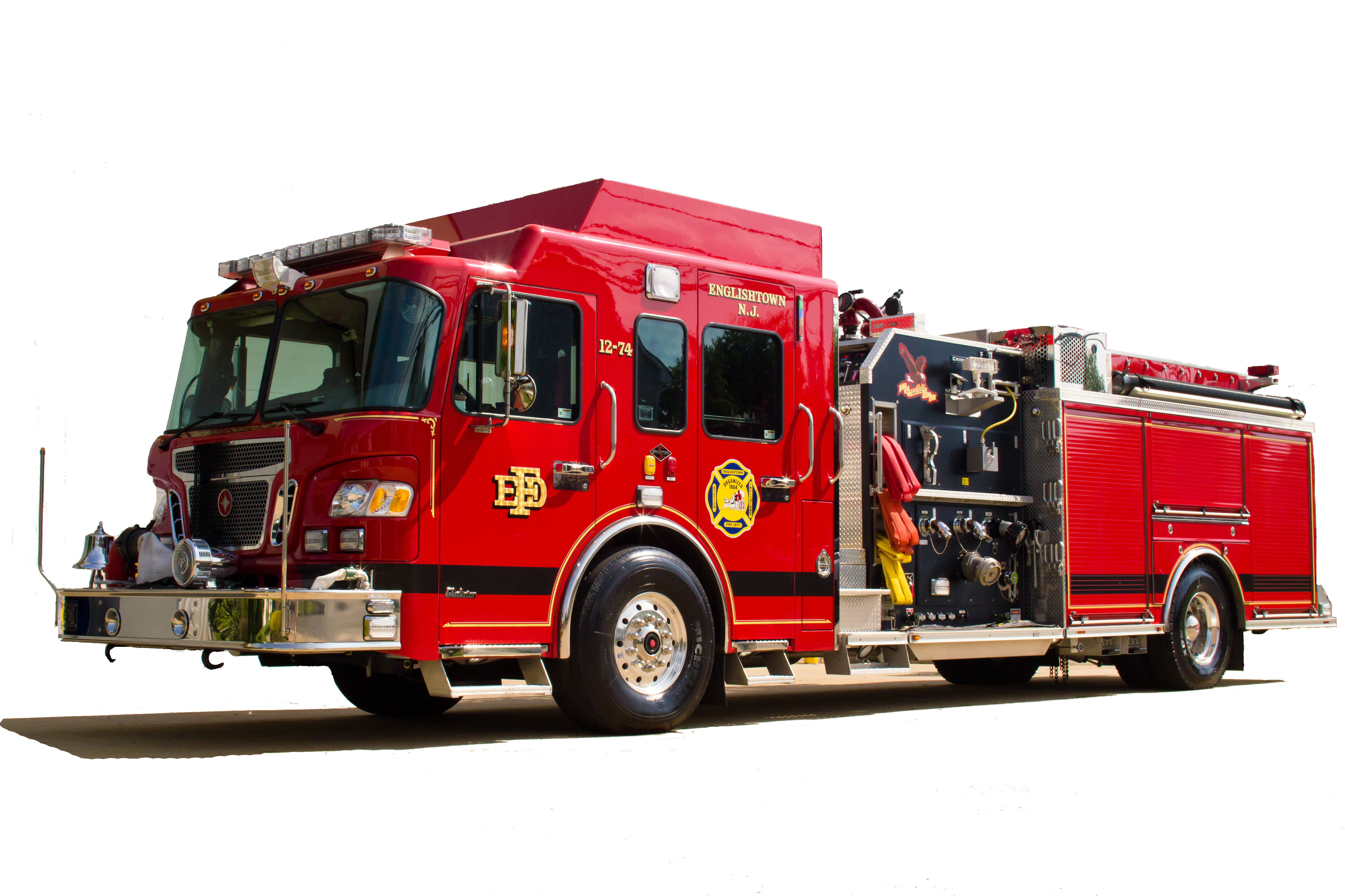 Fire truck PNG images free download, fire engine PNG.