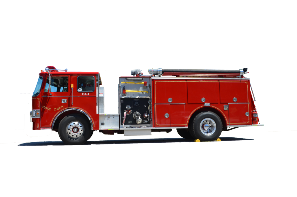 PNG Fire Truck Transparent Fire Truck.PNG Images..