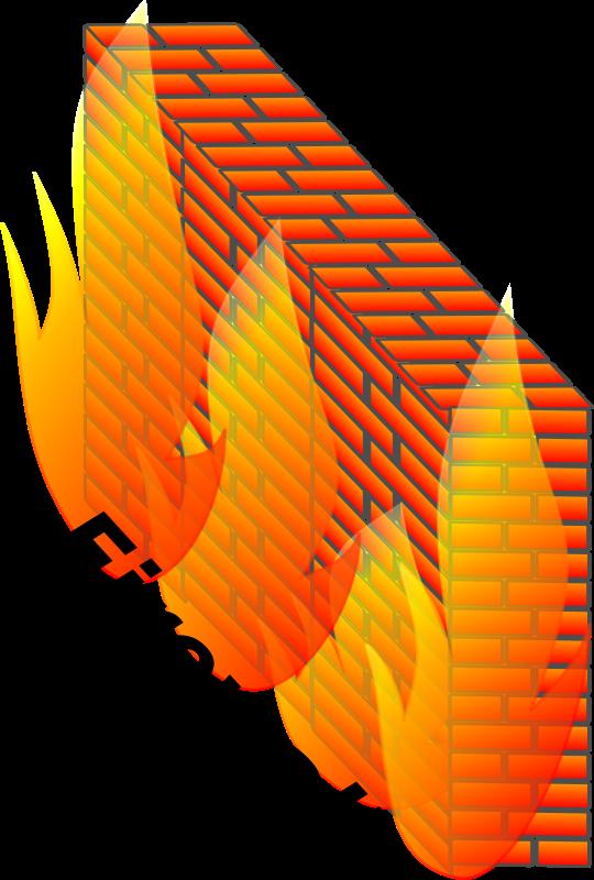 Free Clipart: Firewall.