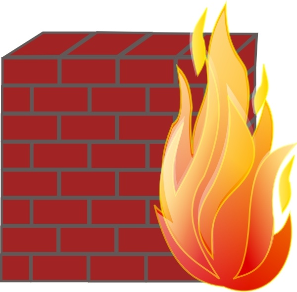 Firewall clip art Free vector in Open office drawing svg ( .svg.