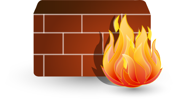 Firewall clip art (117503) Free SVG Download / 4 Vector.