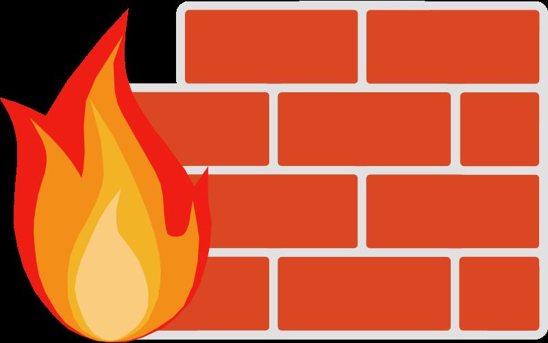 Firewall Clipart.