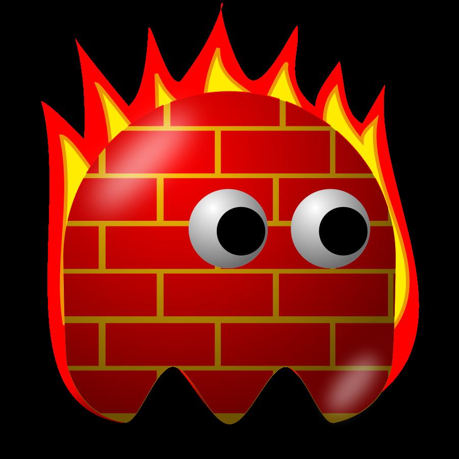 Network Firewall Clipart.