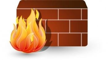 Firewall clip art Free Vector.
