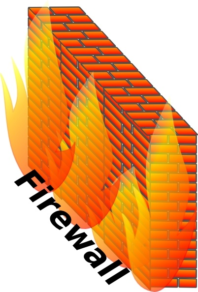 Firewall clip art Free vector in Open office drawing svg.