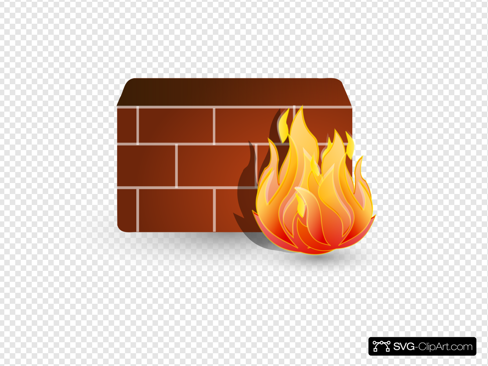 Firewall Clip art, Icon and SVG.