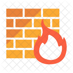 Firewall Icon.