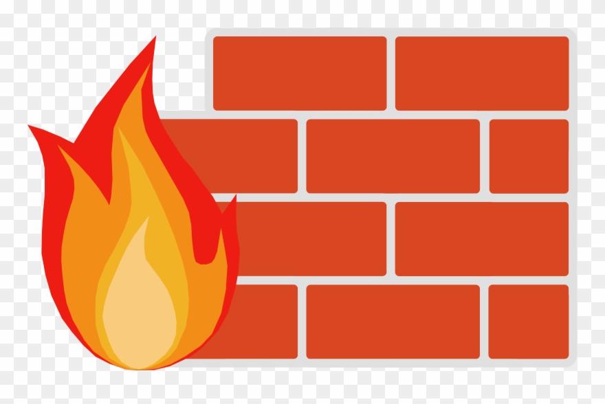 Firewall Wall Clipart Firewall Computer Security Clip.