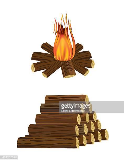 60 Top Firewood Stock Illustrations, Clip art, Cartoons, & Icons.