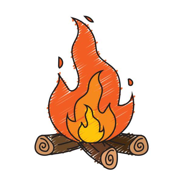Best Firewood Illustrations, Royalty.