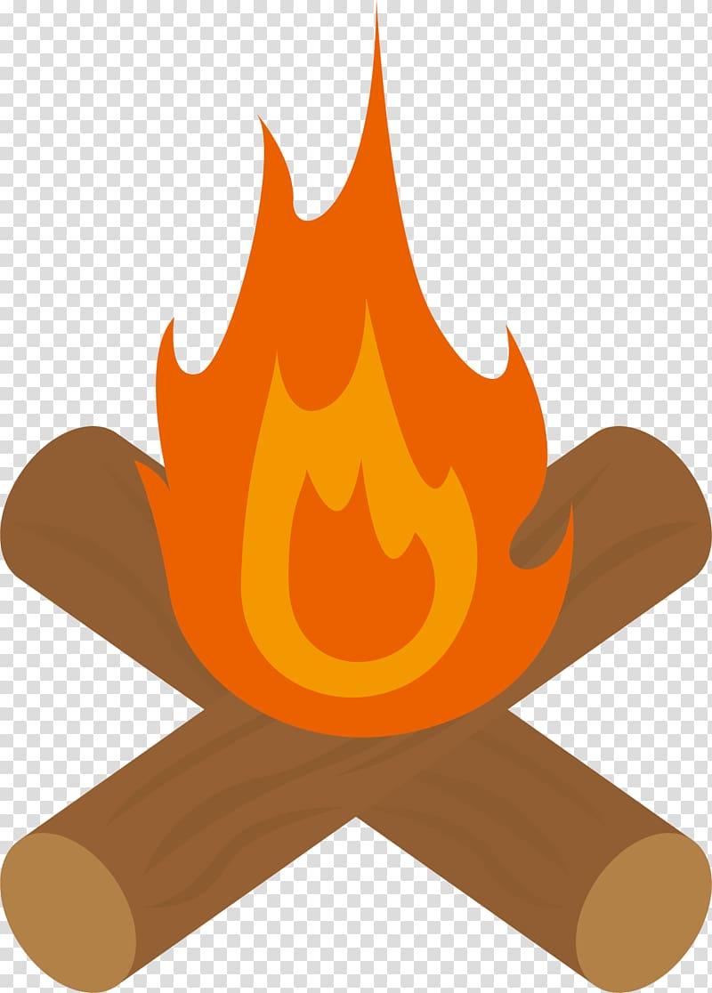 Bonfire Firewood , A bonfire of firewood transparent background PNG.