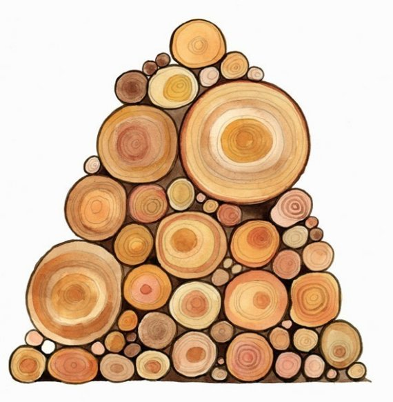 Firewood clipart free.