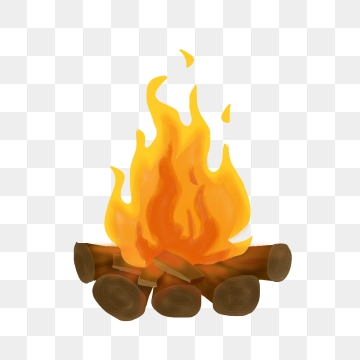 Burning Firewood Png, Vector, PSD, and Clipart With Transparent.
