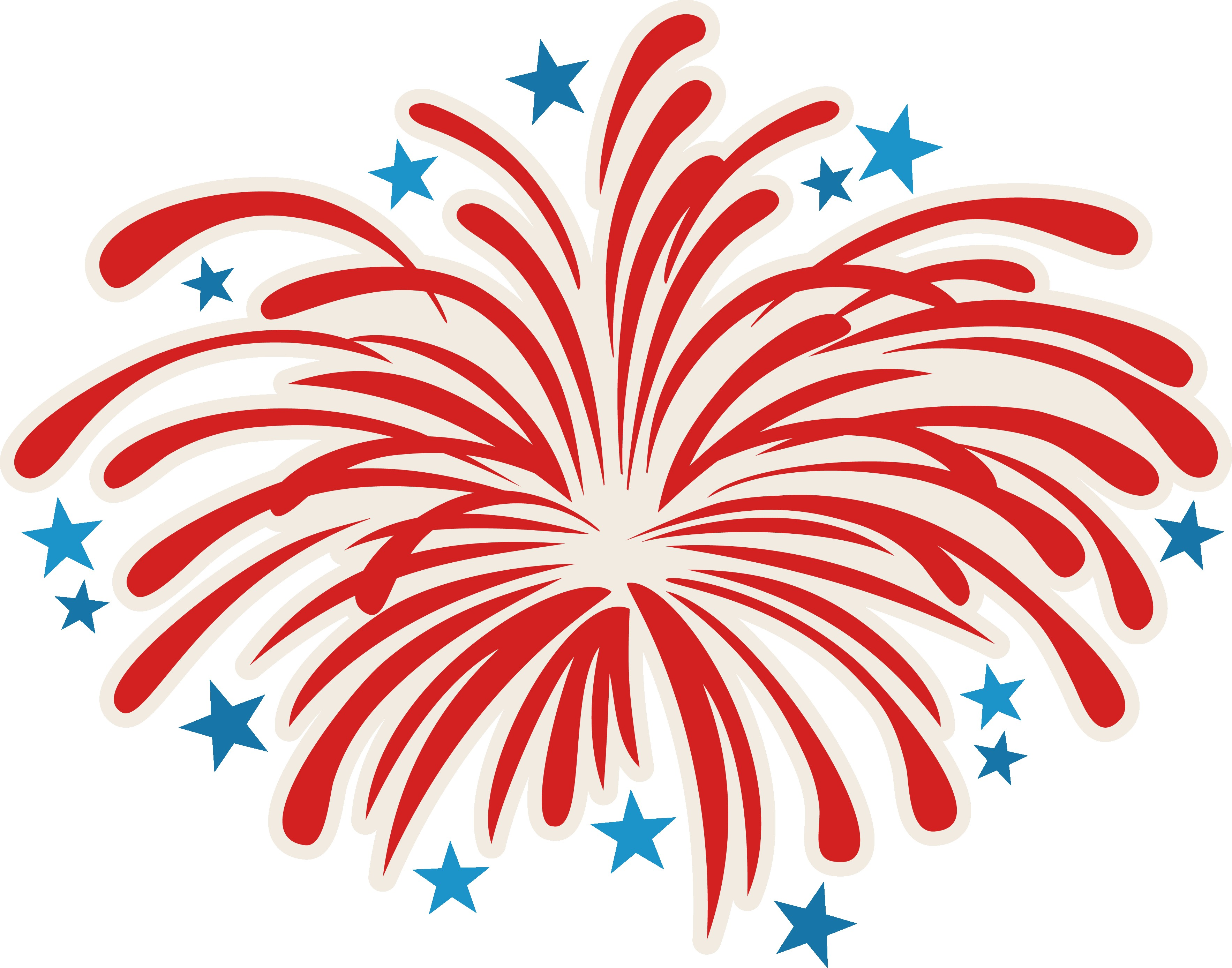 Clipart Of Fireworks.