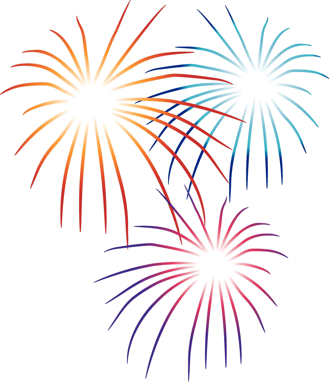 Firework clip art.