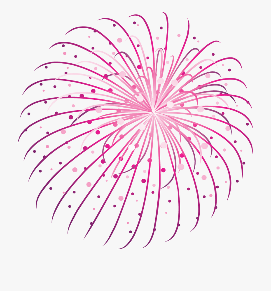 Shooting Fireworks Clipart.