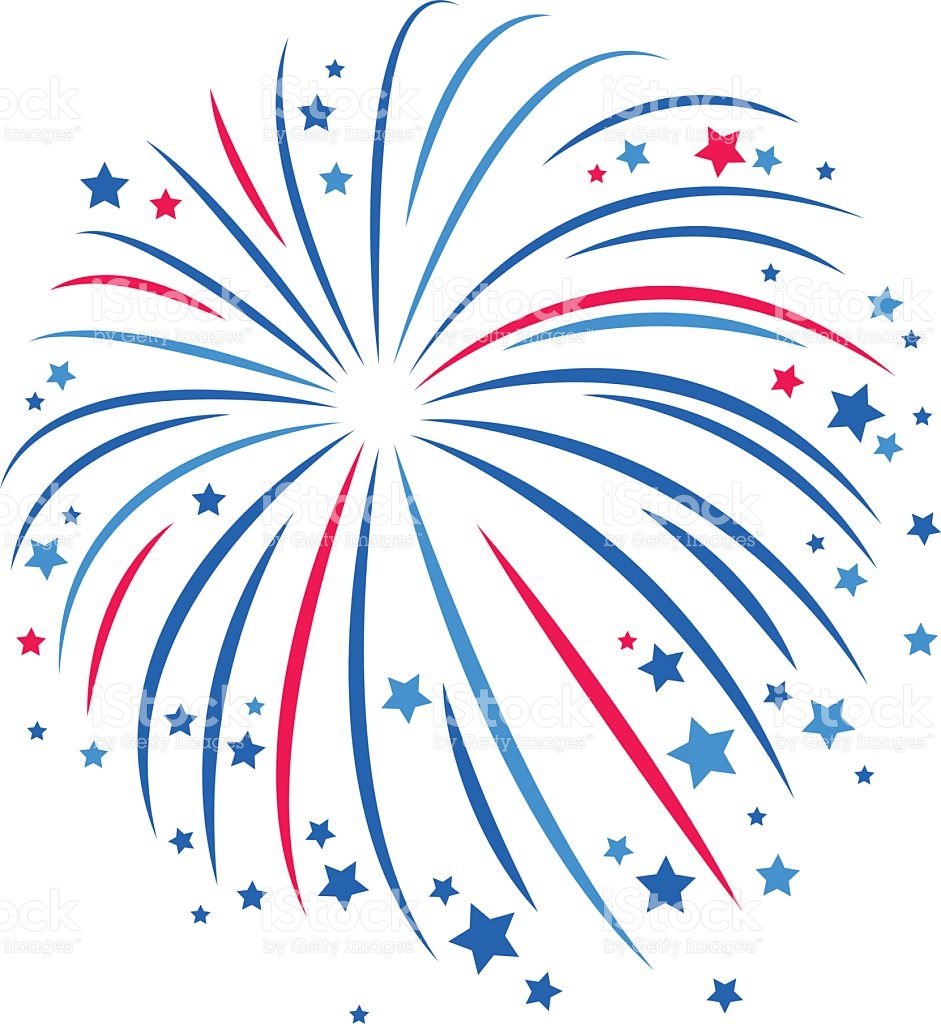 937 Firework free clipart.