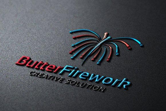 Butter Firework Logo.