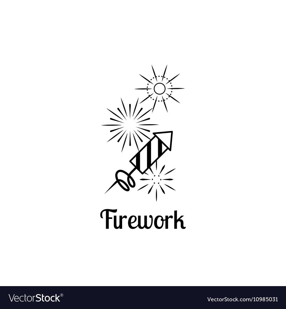 Firework company logo.
