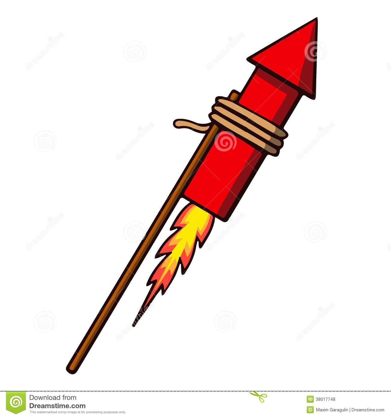Showing post & media for Cartoon firework rocket clip art.