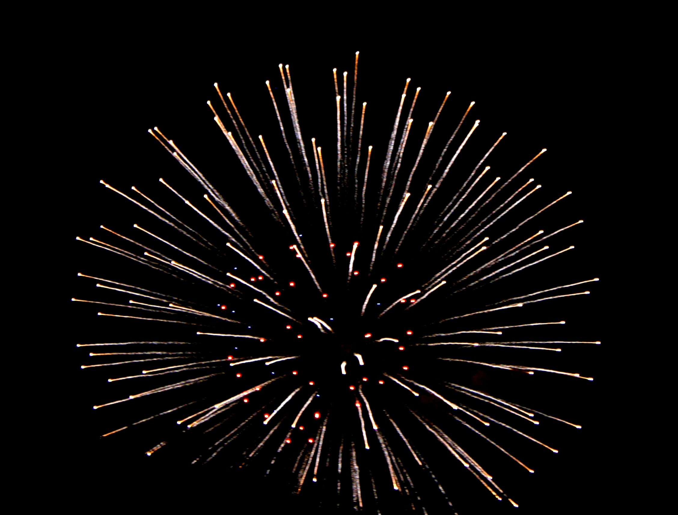 4048 Fireworks free clipart.