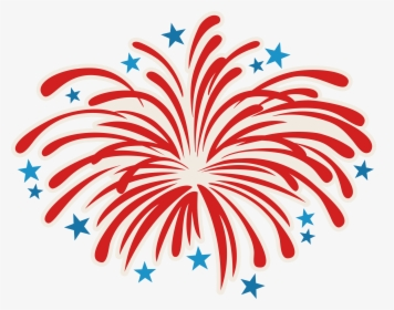 Transparent 4th Of July Fireworks Clipart.